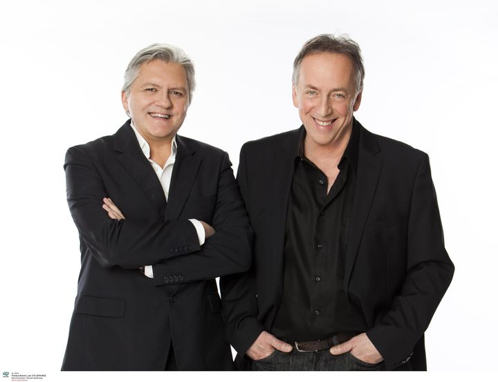 Les animateurs, Richard Martineau et Benoît Dutrizac