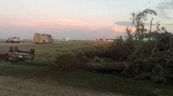 Une tornade tue deux personnes au Manitoba après avoir projeté leur