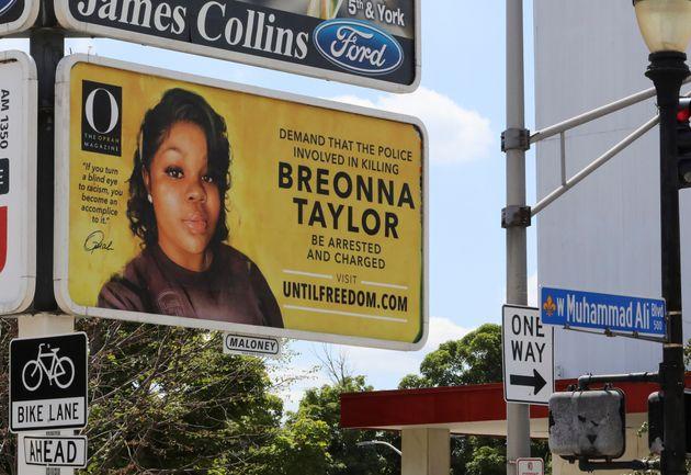 Oprah Winfrey a payé 26 panneaux publicitaires pour réclamer justice pour Breonna