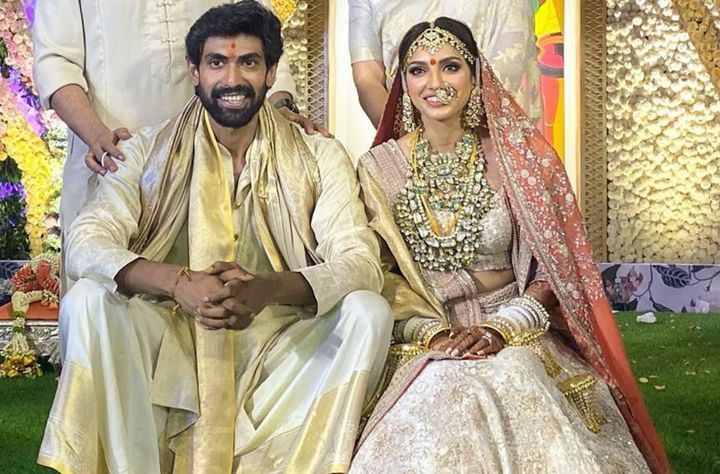 Rana Daggubati and Miheeka Bajaj's wedding