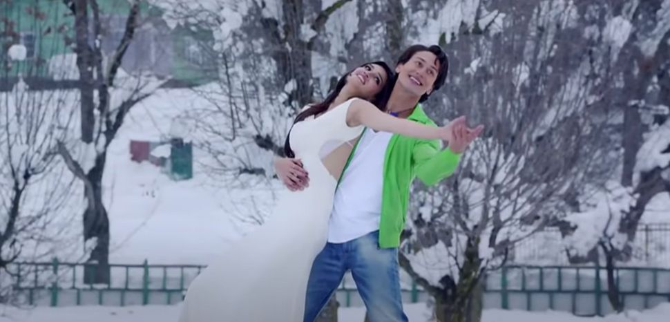 Tiger Shroff in Heropanti.