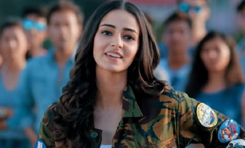 Ananya Pandey in SOTY2.
