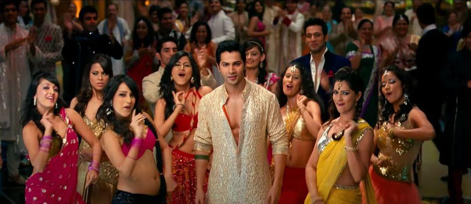 Varun Dhawan in SOTY.