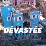 Les dégâts causés par l'explosion au port de Beyrouth en vue