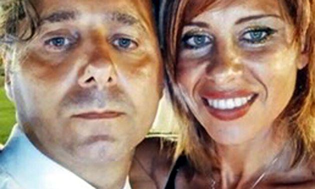 Viviana Parisi e il marito Daniele