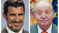 Luis Figo envía este mensaje a Juan Carlos I a través de Twitter y muchos le responden lo