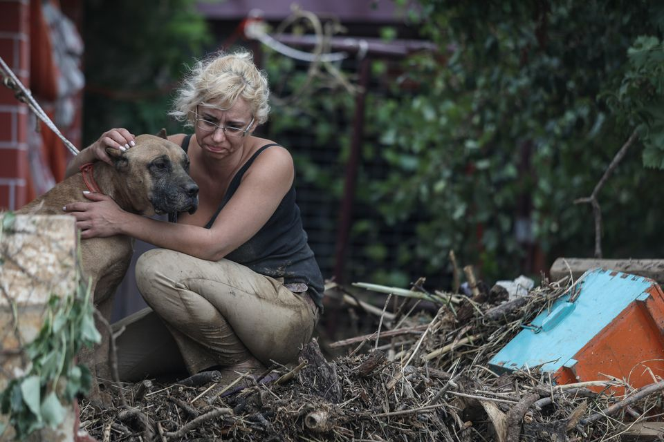 Φωτογραφίες: Οι εικόνες της καταστροφής και της απόγνωσης από τις πλημμύρες στην
