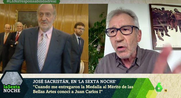 José Sacristán, en 'LaSexta