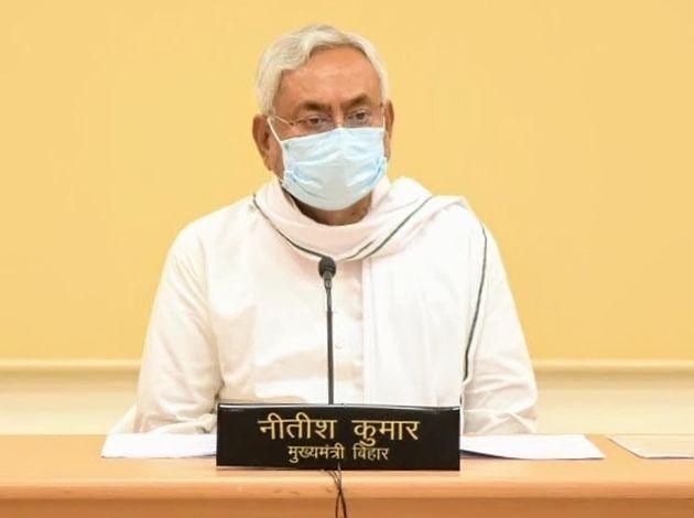 Bihar Chief Minister Nitish Kumar attends the inauguration of the Gandhi Setu Bridge over the river Ganga...