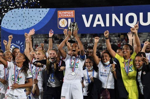 L'OL remporte la Coupe de France féminine face au