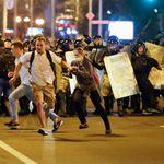 Après la présidentielle au Bélarus, des heurts opposent manifestants de l'opposition et forces de