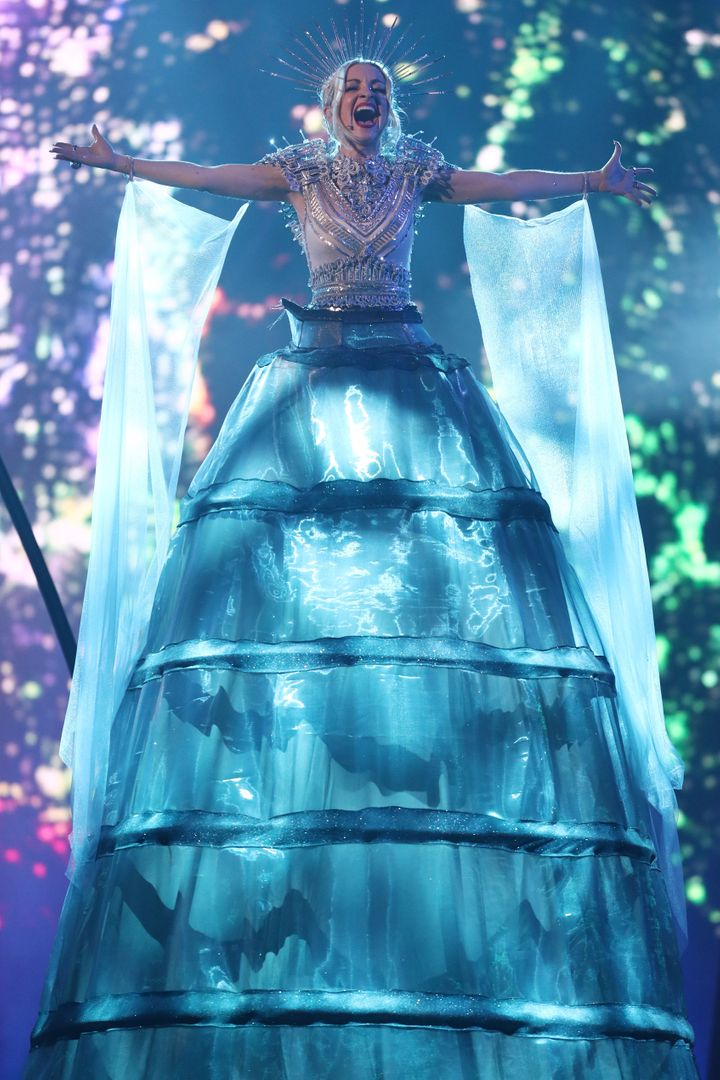 Kate Miller-Heidke performs during Eurovision - Australia Decides at Gold Coast Convention and Exhibition Centre on February 09, 2019 in Gold Coast, Australia.