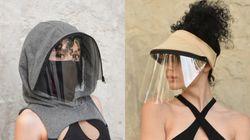 미국에서 창의적인 안면보호대들이 등장하고 있다