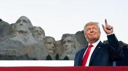 Trump ajouté au Mont Rushmore? Il ne dirait certainement pas