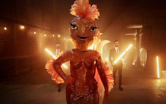 The Goldfish on 'The Masked Singer