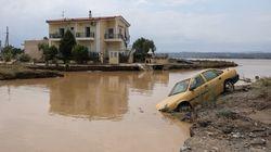 Grecia, inondazioni sull'isola di Eubea: morti e
