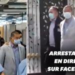 Le seul patron de presse opposé à la Chine et pro-démocratie arrêté à Hong