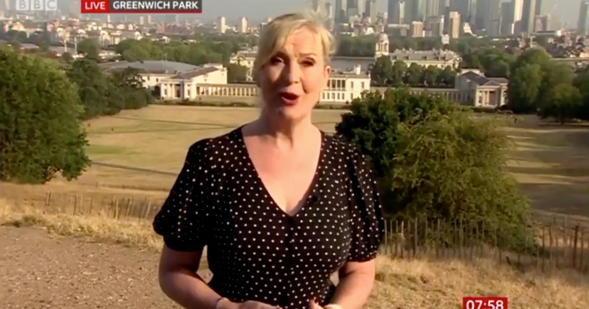 Carol Kirkwood's Unfortunate Slip Of The Tongue Has BBC Breakfast Viewers In Hysterics