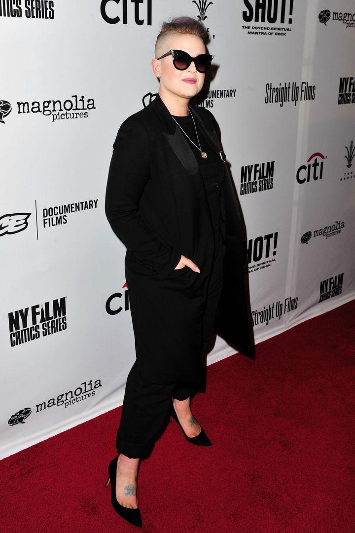 Kelly Osbourne, en abril de 2017.