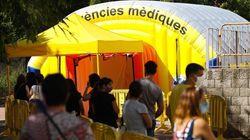 Cataluña notifica 863 positivos por COVID y 5 muertos en las últimas 24
