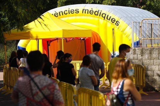 La Generalitat de Catalunya comenzó este jueves en la población de Sabadell (Barcelona), un cribado masivo...