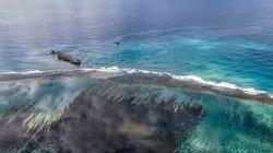 """La marée noire à l'île Maurice ne menace pas """"à ce stade"""" la"""
