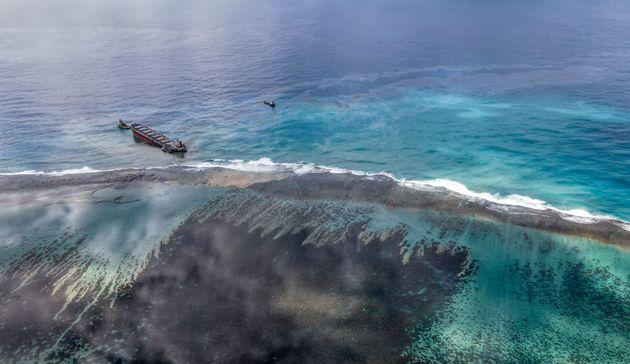 La marée noire à l'île Maurice ne menace pas La