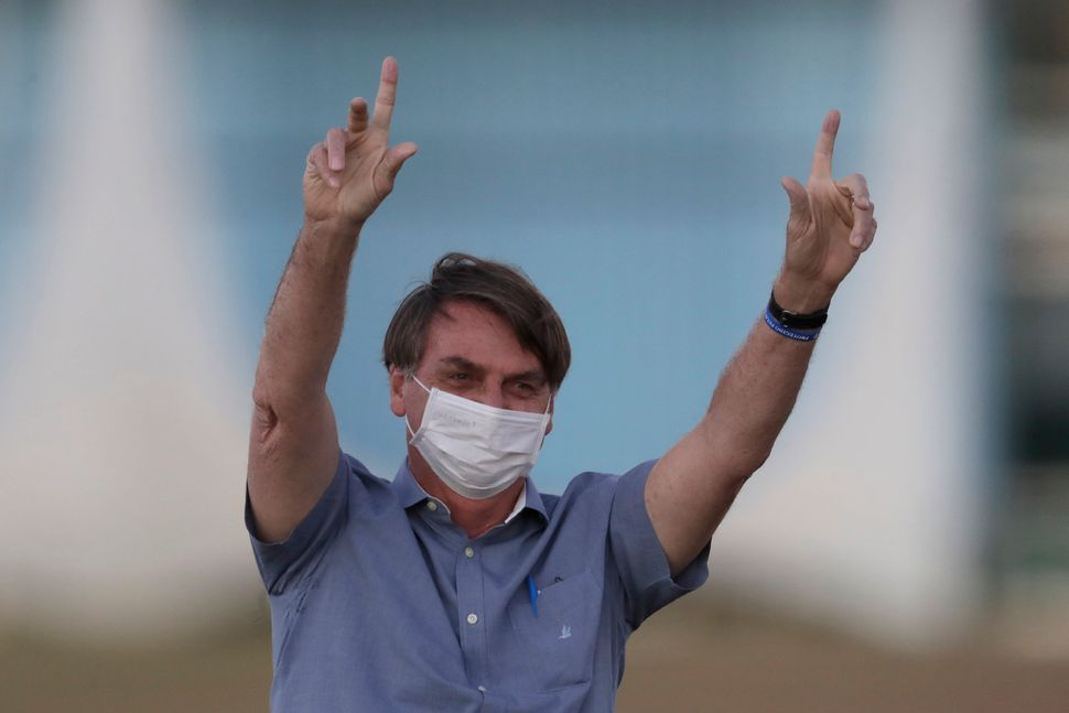 After ousting two health ministers, Bolsonaro turned the health department over to military officials, handing the armed forc