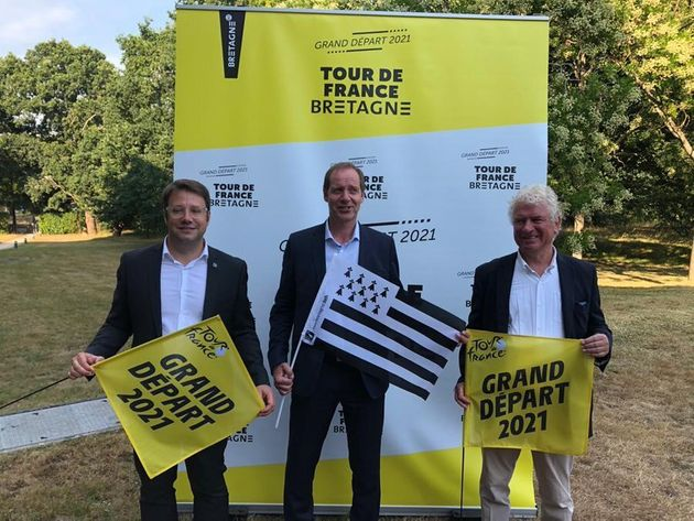 Le Tour de france 2021 s'élancera de Brest, comme l'ont annoncé ce lundi le président...