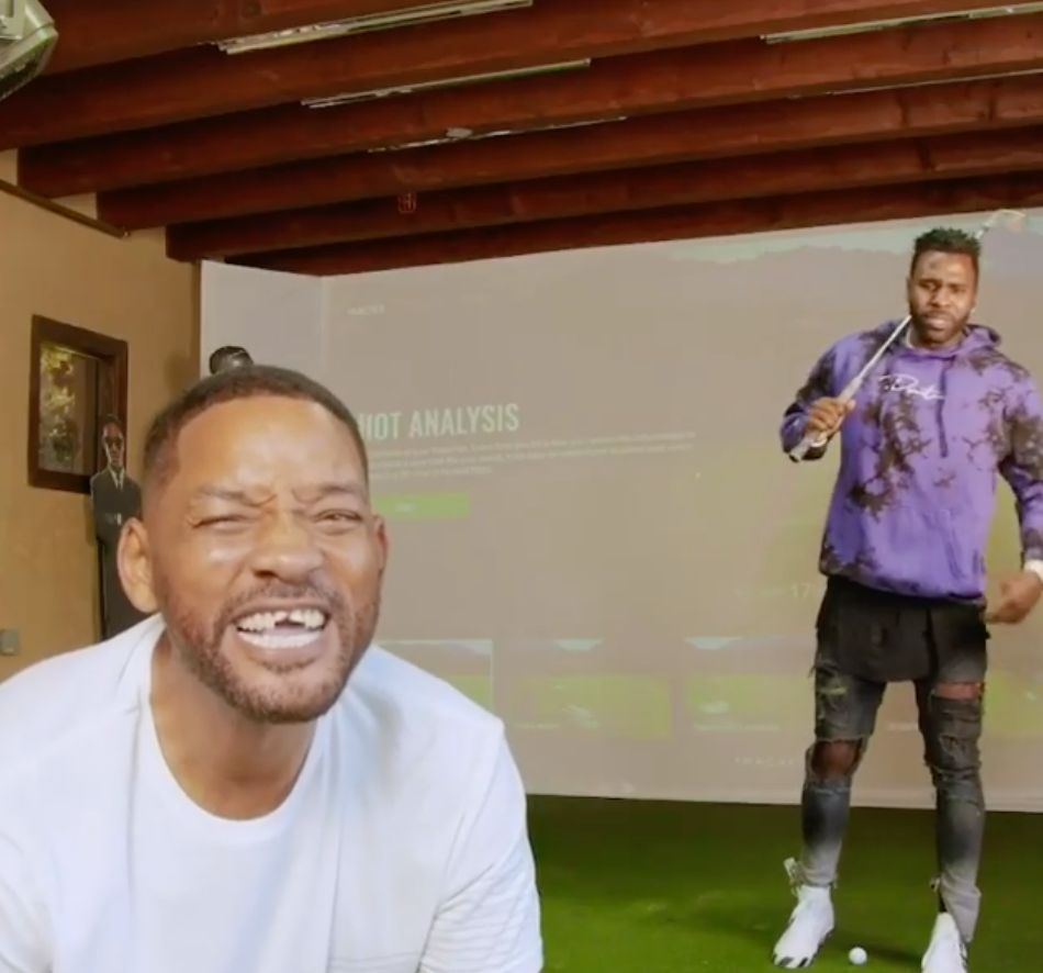 Will Smith And Jason Derulo's Viral Golf Fail Is A Total Knockout