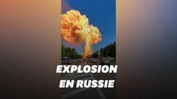 Les images impressionnantes de l'explosion dans une station-service à