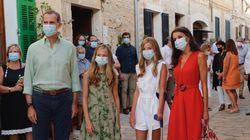 Leonor, todo al VERDE en su primera salida en Mallorca (¿con toda la