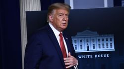 Trump Removed From Press Conference After Shots Fired Near White