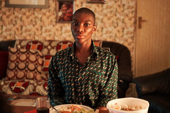 "Michaela Coel as Arabella in ""I May Destroy You."""