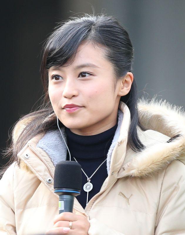 タレントの小島瑠璃子さん(2016年1月11日)