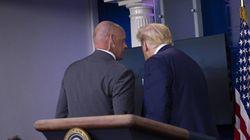 Trump abandona una rueda de prensa tras producirse un tiroteo cerca de la Casa
