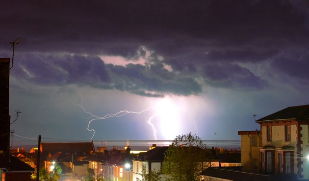 Thunderstorm Warnings For Almost All Of UK As Welsh Town Floods