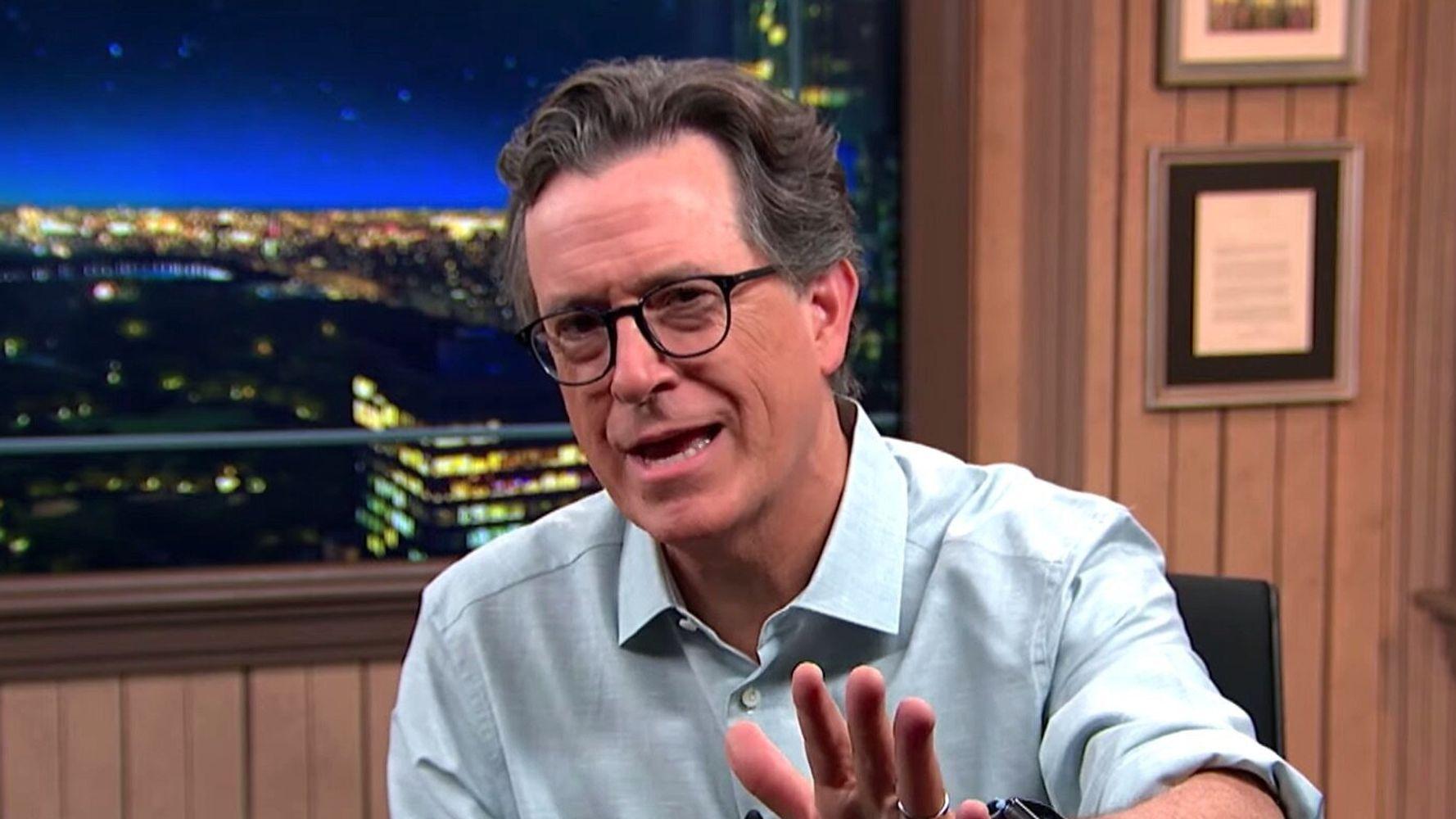 Stephen Colbert Trolls Trump's Latest Brain Fart: 'Did He Just Forget The Word 'Virus?''