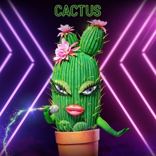 The Cactus on 'The Masked Singer'
