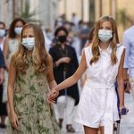 Varios enfermeros, extrañados con el vendaje de la infanta Sofía en estas