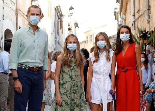 La familia real en