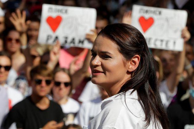 Στη Λιθουανία κατέφυγε η αντίπαλος του Λουκασένκο στις προεδρικές εκλογές στη