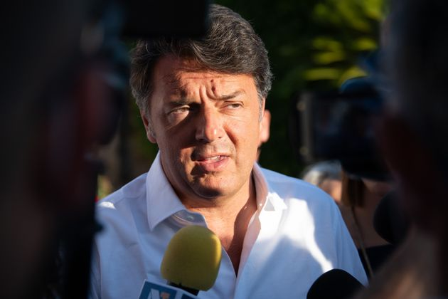 CASERTA, ITALY - 2020/07/09: Matteo Renzi, the leader of
