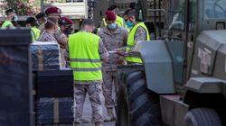 El Ejército instala en Zaragoza un área de hospitalización temporal y un dispositivo de triaje