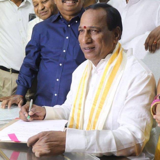 Telangana labour minister Chamakura Malla