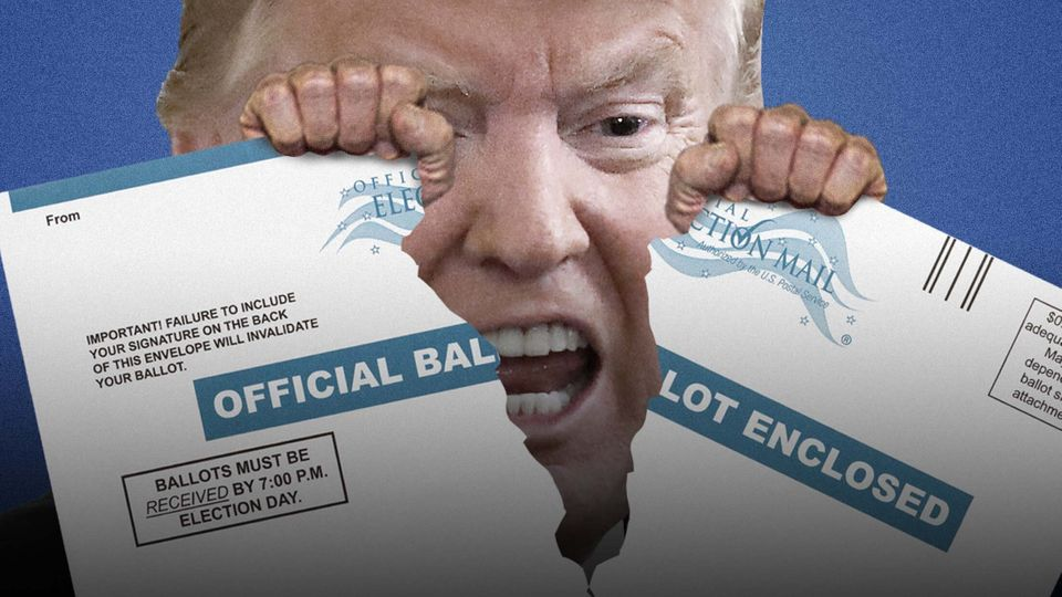 Donald Trump Can Do More Than Attack Post Office Funding. He's Mounting A Legal War Against Mailed