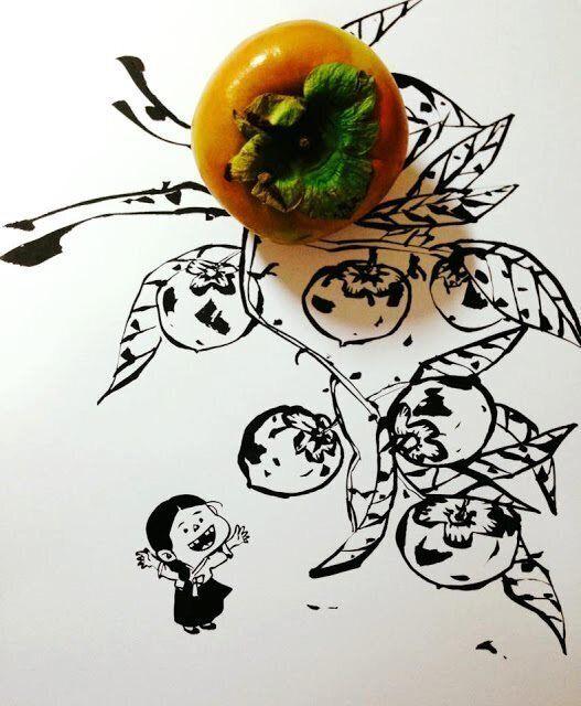 Arte conceitual utilizando um dos desenhos que Keum Suk fez para