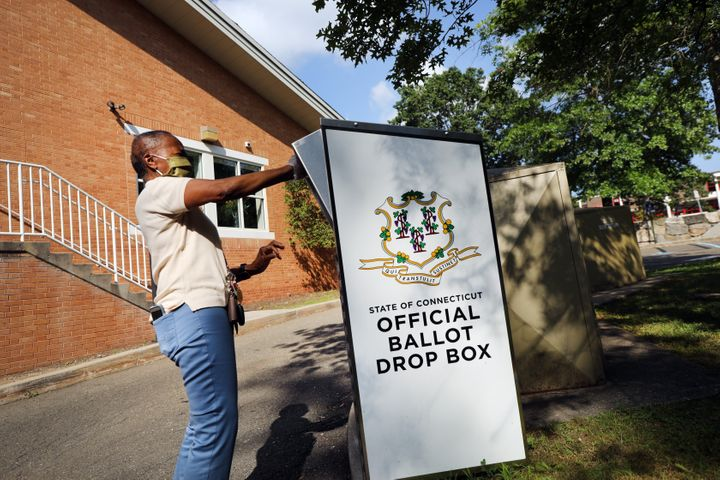 Some states provide easy ballot drop-off sites for absentee voters to avoid postal delays.
