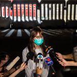 周庭さん、香港警察から釈放される。「逮捕、いったいどういう理由で」