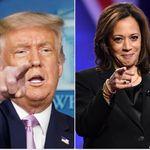 Per due volte Trump ha fatto donazioni a favore della candidatura di Kamala